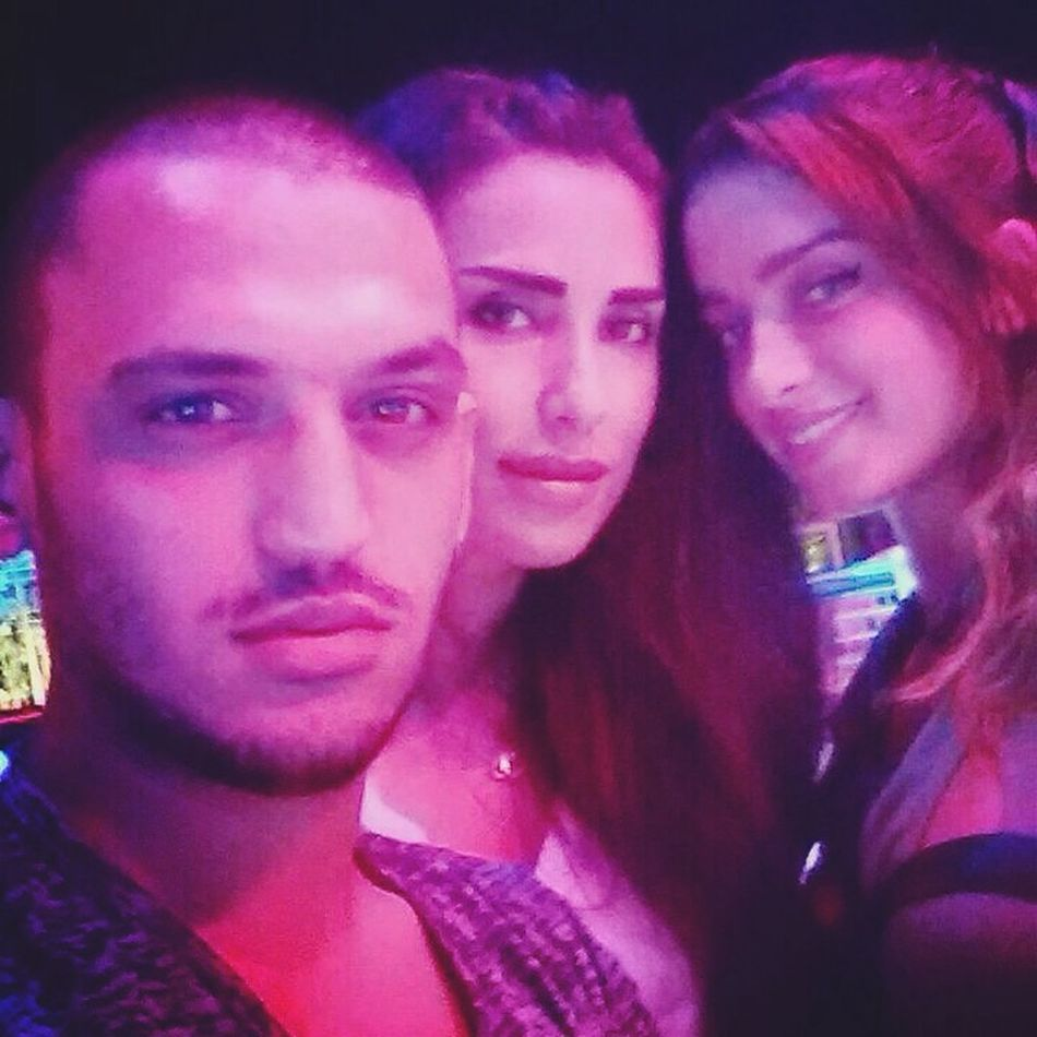 Selfie Hanging Out with Bestfriends clubbing in White Beirut