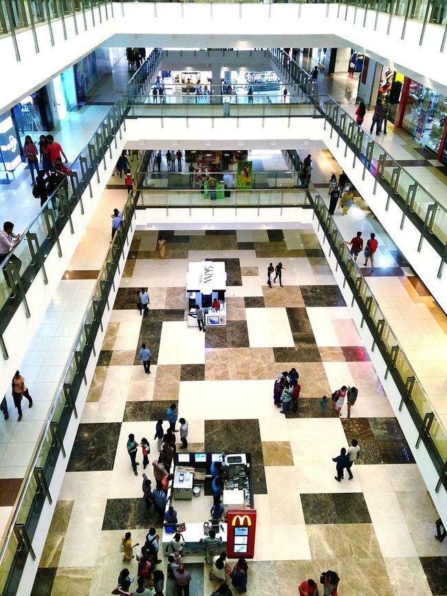 Fresh On Eyeem  EyeEm Nextbitrobin Shopping Mall Busy People Birds Eye View The Week On EyeEem Mobile Photography Mobile Camera