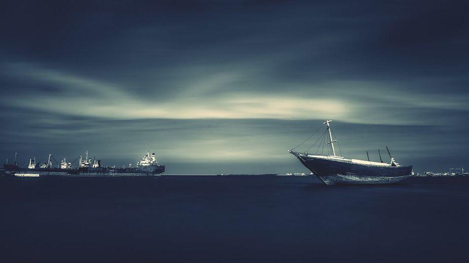 Landscape_photography Blackandwhite Photography Shipyard