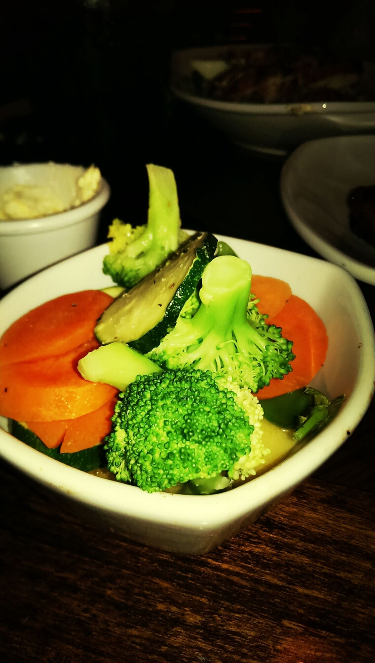 Side of steamed veggies won't go astray! Steamed  Veggies Dinner Eating Healthy