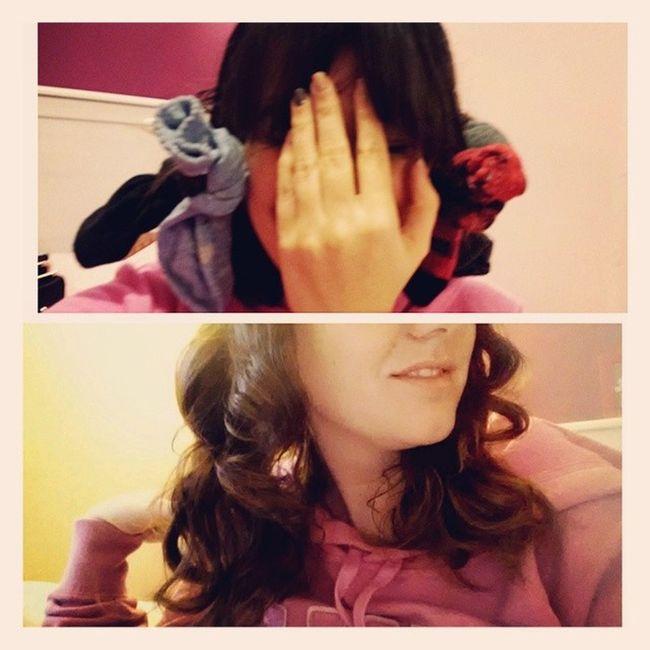 Sockbuncurls Notcomfytosleepon Prettycurls Beauty Hair