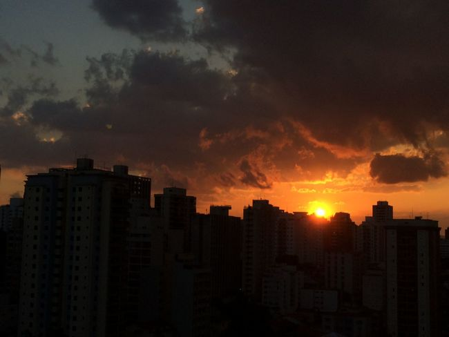 sao paulo BRAZIL 2016 Architecture Beauty In Nature Building Building Exterior Built Structure City City Life Cityscape Cityscapes Cloud Cloud - Sky Cloudy Dramatic Sky EyeEm Team No People Office Building Orange Color Outdoors Residential Building Sky Skyscraper Sun Sunset Tall - High Urban Skyline
