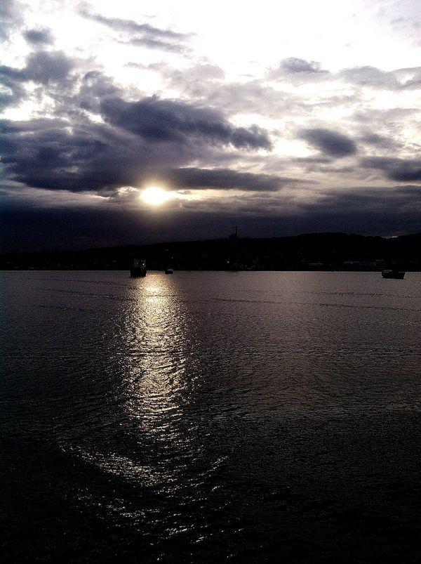 The sunset tho ❤
