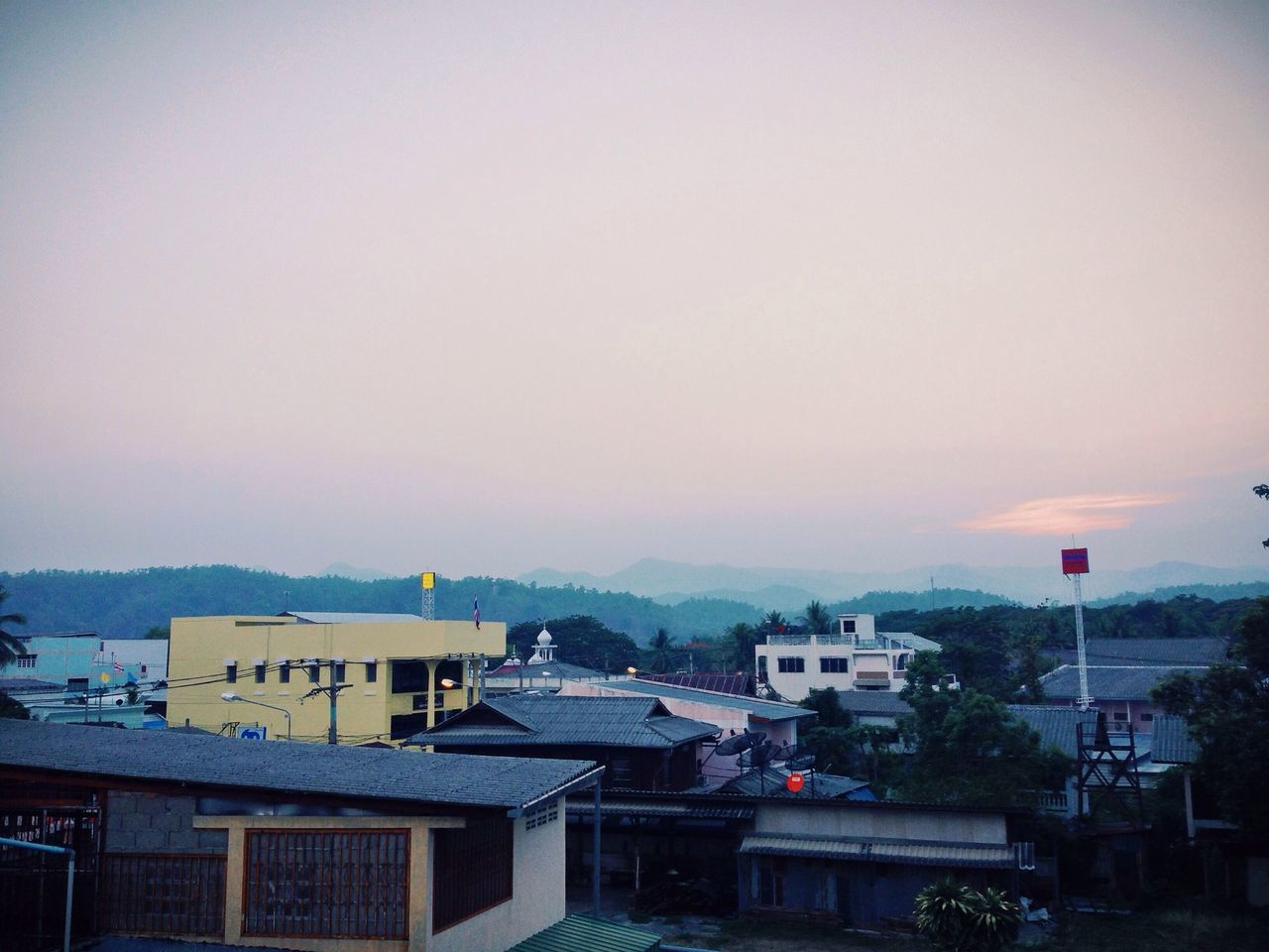 Sunset Maesariang City