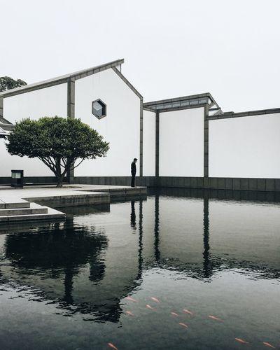 Architecture China Reflection The Architect - 2016 EyeEm Awards