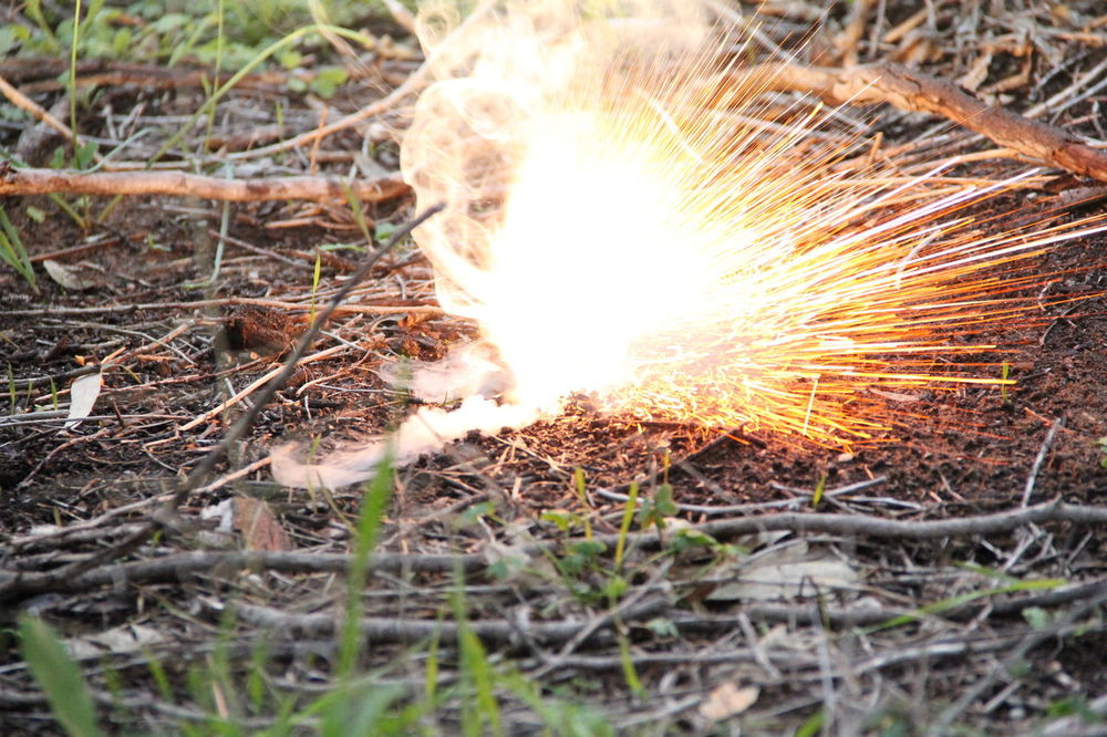 Boom BOOM! Burn Burning Close-up Day Explode Explosion Fire Fireworks Grass Ground Heat - Temperature Light Nature No People Outdoors Smoke