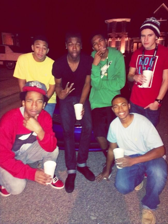 THC just out coolin last night