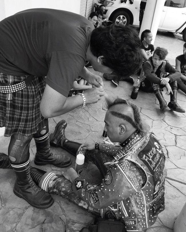 Punk Kltroopers Blackandwhite Gig Skinhead N Punk Malaypower Trust Action Not Trust Words FuckYou