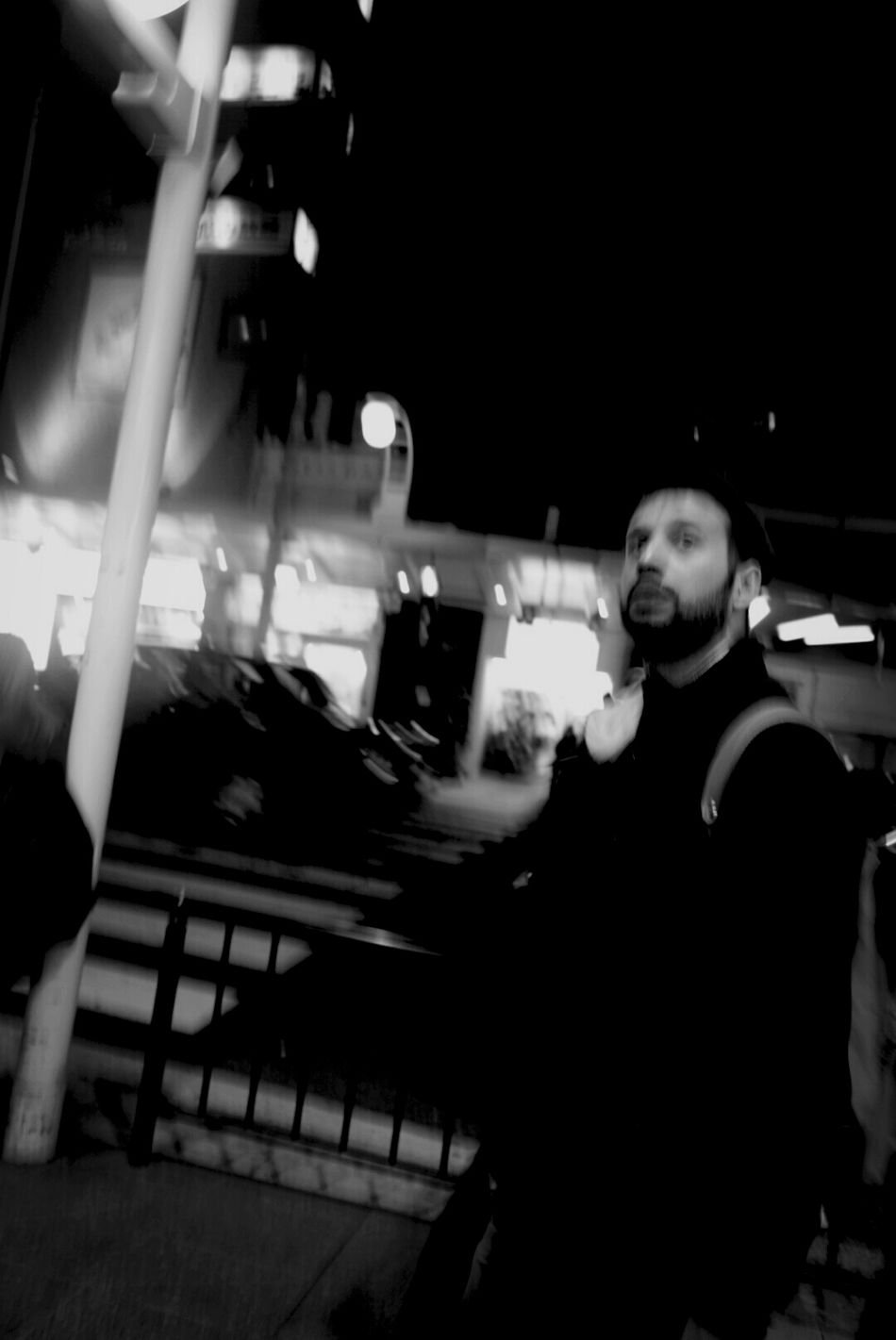 Street Photography Snap Black And White Man
