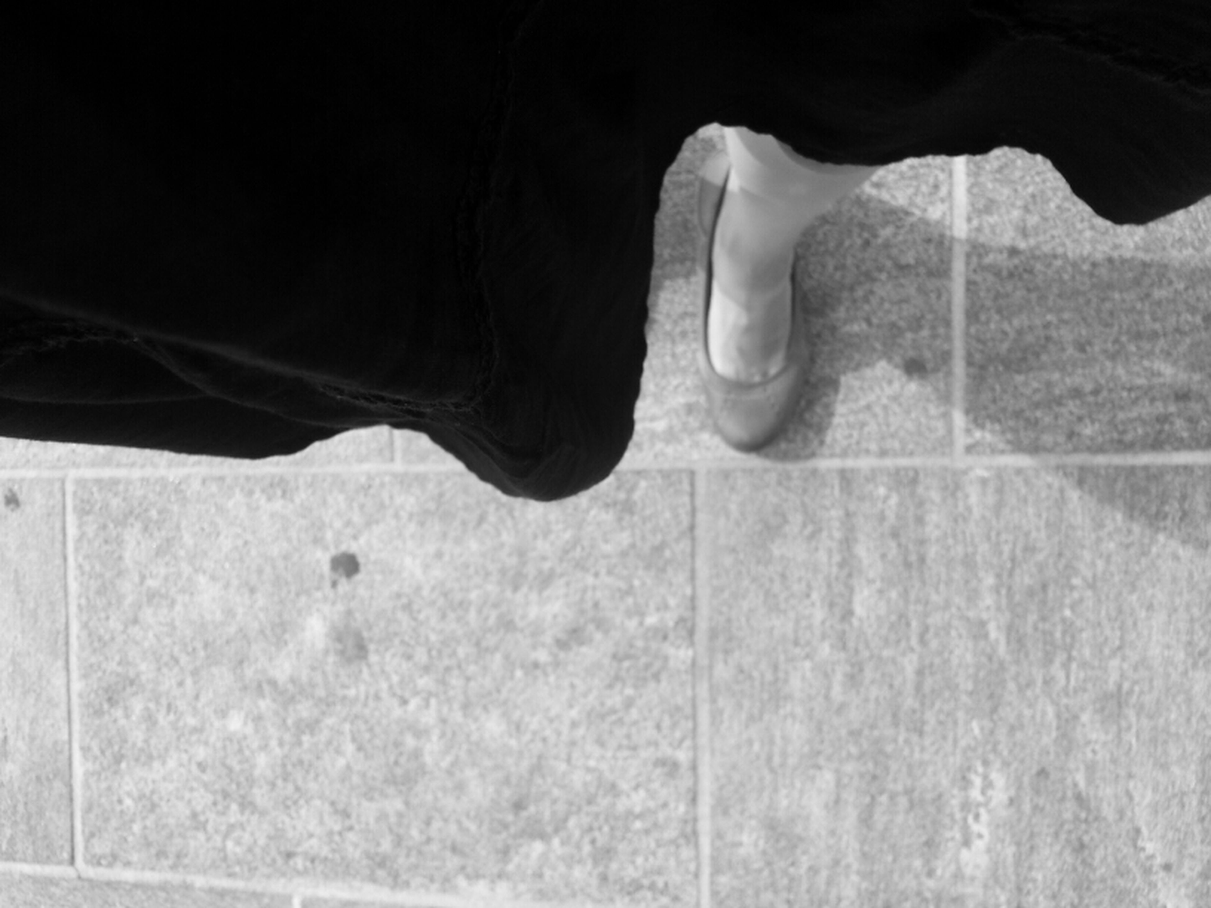 low section, person, shoe, part of, footwear, shadow, street, outdoors, human foot, close-up, road, night, unrecognizable person, sunlight, pattern, protection
