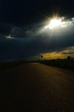 Relaxing Zachodslonca Comming Home With My Love ❤ Car Enjoying Life Niebo