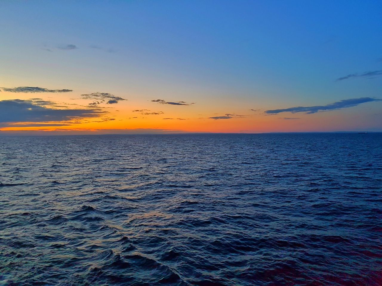 Horizon Over Water Sea Scenics Sunset Water Beauty In Nature Tranquil Scene Tranquility Waterfront Seascape Blue Sky Nature Idyllic Rippled Majestic Outdoors Non-urban Scene Cloud - Sky Vibrant Color
