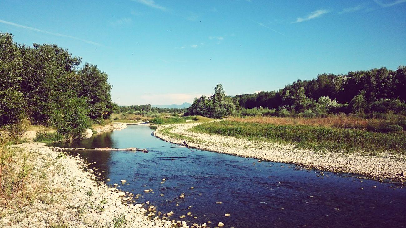 En Vancances /// Summer River Relax Landscape