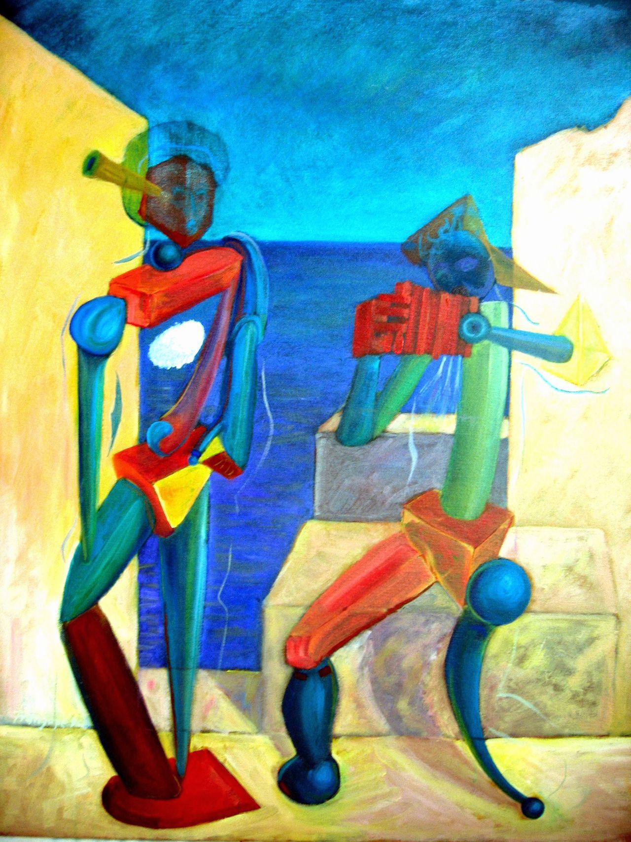 ARTISTAS Herencia Del Gran Maestro Inspiración. Multi Colored Musica Oleo Fotografiado Pinturas Viva Picasso