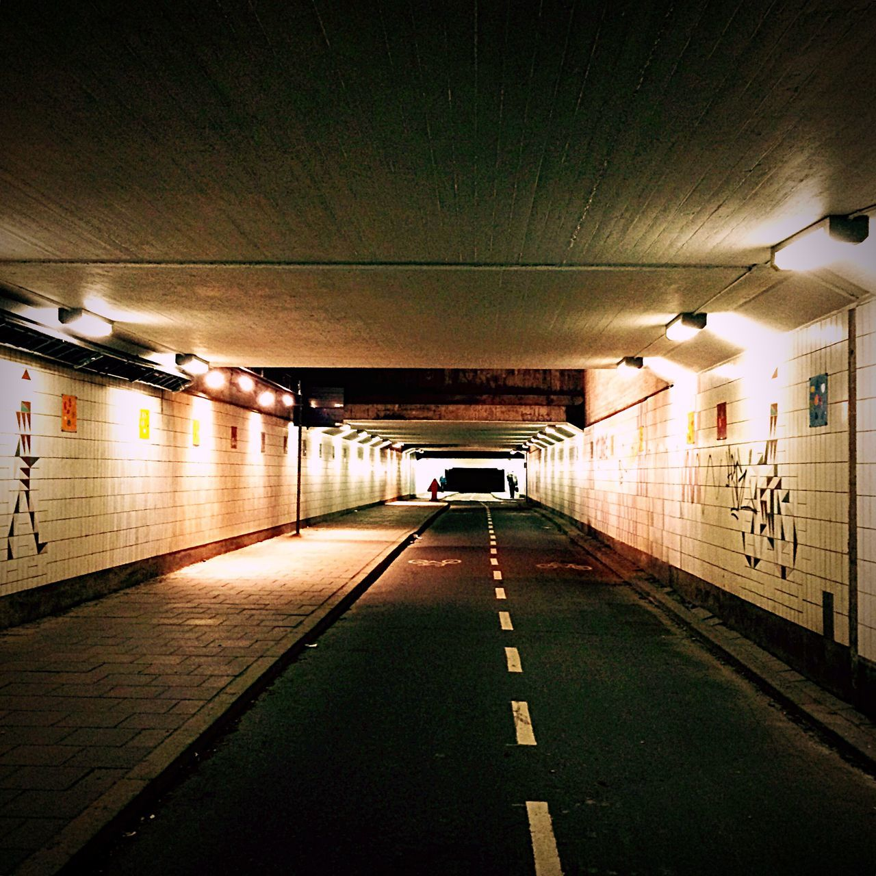 Urbanphotography September Walking Around Lights Light And Shadow From My Point Of View Stockholm Sweden Tunnel Urban Geometry