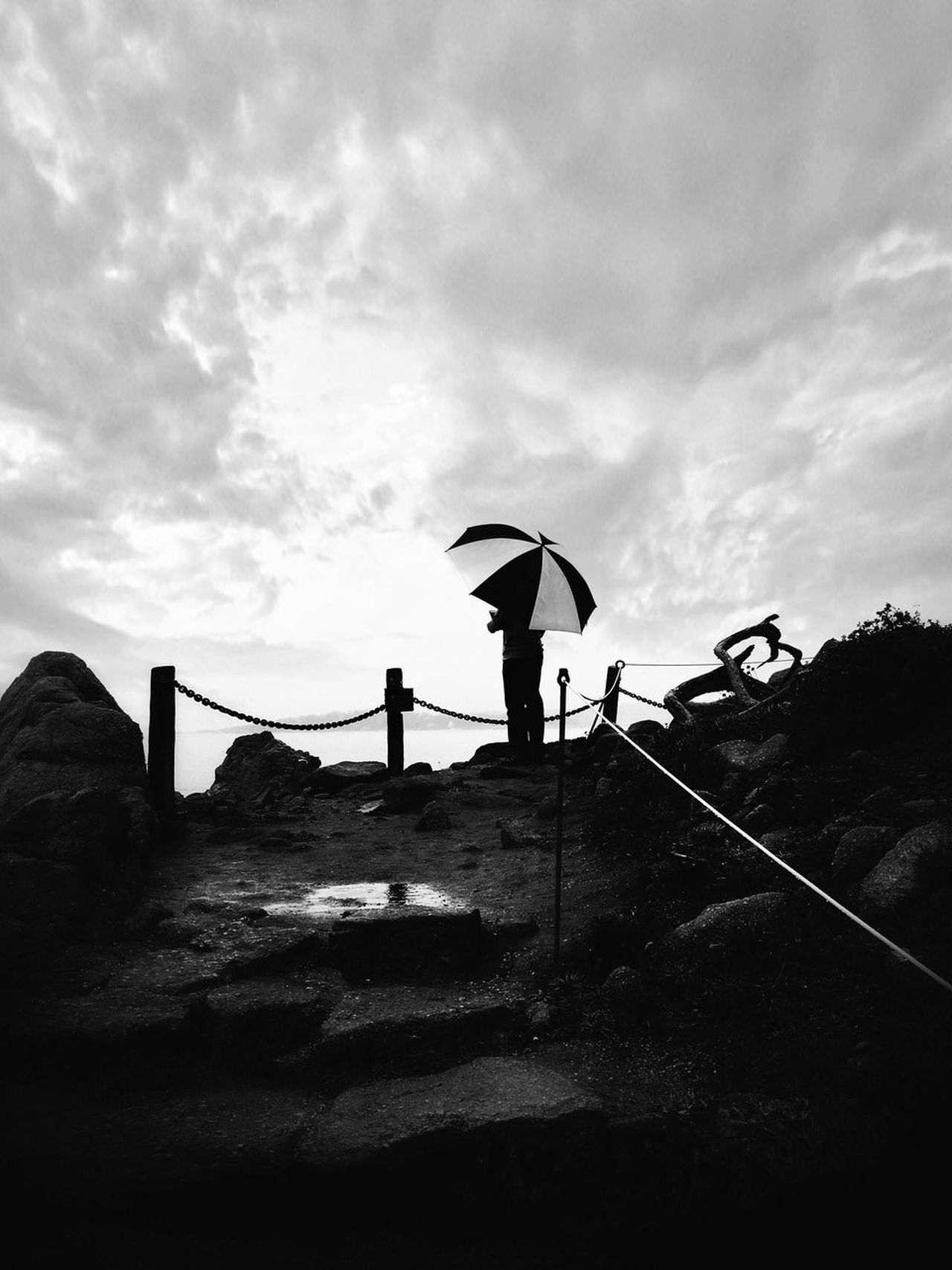Blackandwhite Bw_collection EyeEm Best Shots Rain Ocean California Shootermag Point Lobos Telling Stories Differently Pacific Ocean The KIOMI Collection