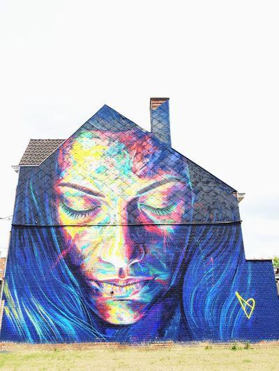 ❤️ that's nice Streetart in Belgium