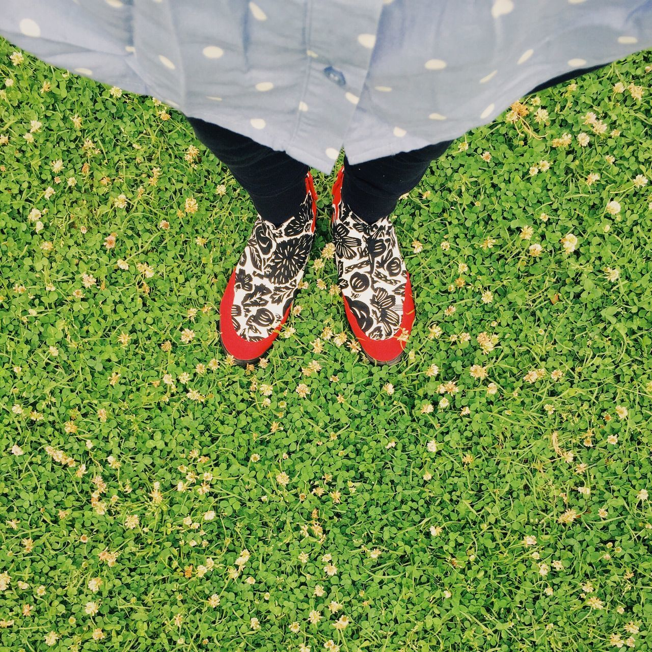 Low Section Standing Green Color High Angle View Human Leg Shoes Me Eyem Best Shots VSCO Mobilephotography
