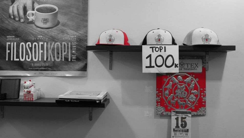 Old skool hats sold in a noodle shop. Streetphotography Urbanphotography Hats Eye4photography  EyeEm Best Shots EyeEm Gallery Street Photography Vintage EyeEmBestPics Reds