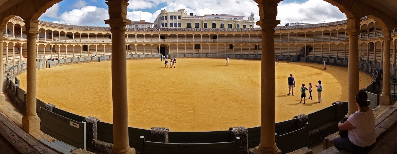 Architecture Built Structure Travel Destinations History Tourism Travel SPAIN España🇪🇸 Ronda Ronda Spain Plaza De Toros Arches Bullfighting Bullfighting Arena Historical Landmarks Historic Arena EyeEmNewHere Andalusia Andalucía Sand Yellow Ochre Yellow Ochre
