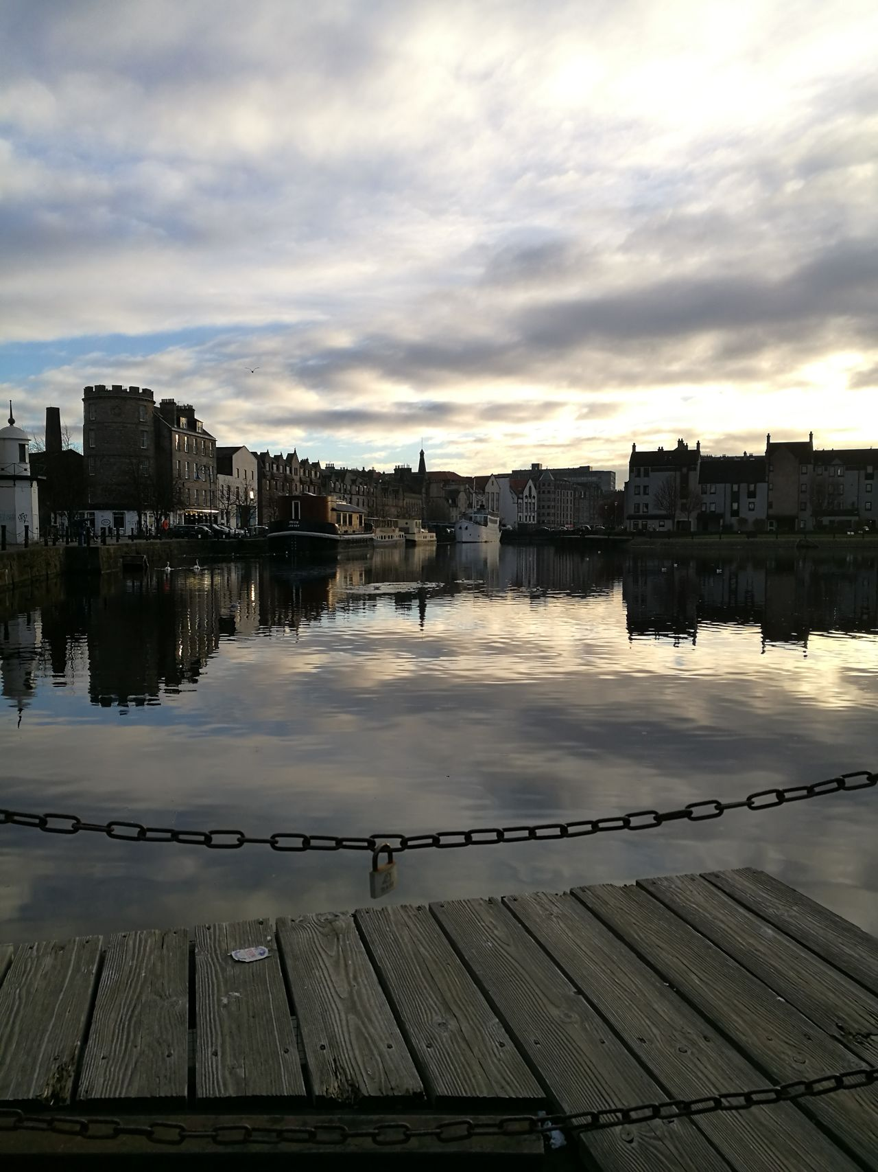 The view at The Shore in Leith. Edinburgh. Scotland. First Eyeem Photo My Year My View Huawei P9 Leica