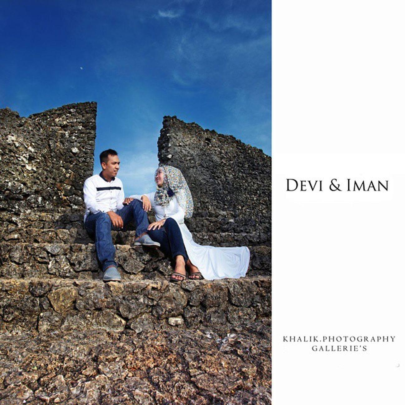 Prewedding of Devi & Iman Latepost Prewedding Prewedding_indonesia Keraton_buton baubau buton sulawesi_tenggara
