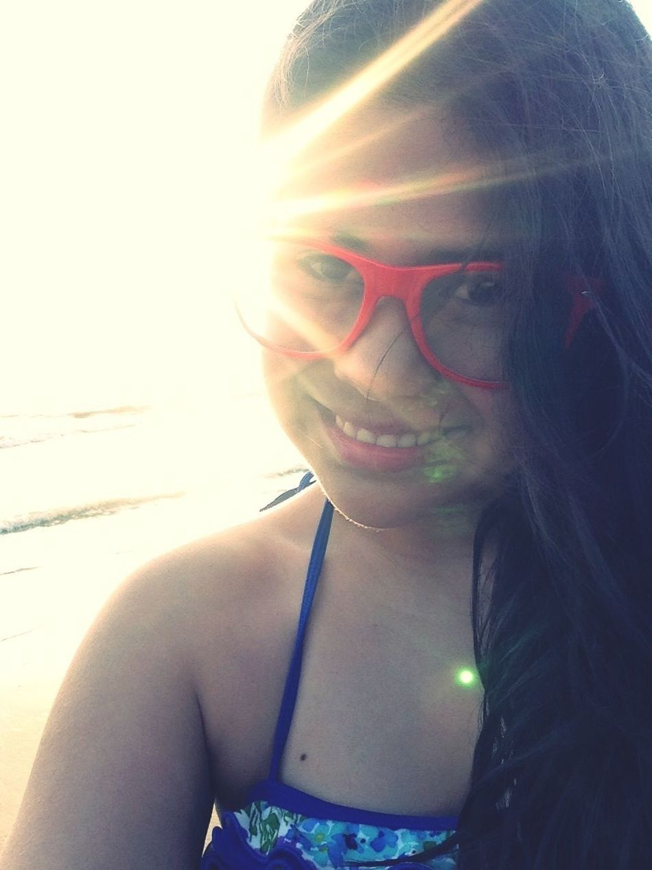 When I was in the beach :') I miss the ocean and the guys 7u7 Beach Ocean View Mayan Palace Grand Luxxe