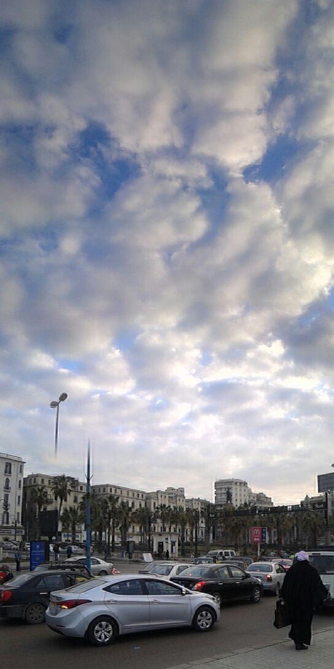 Clouds And Sky Enjoying Life اسكندرية_حلوة Good Morning