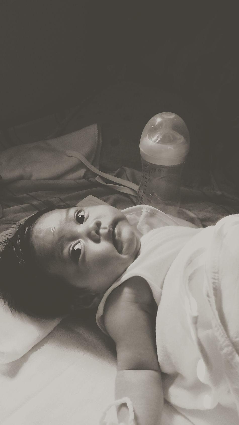 Dearest Cousin Lovely Babygirl Blackandwhite Photography