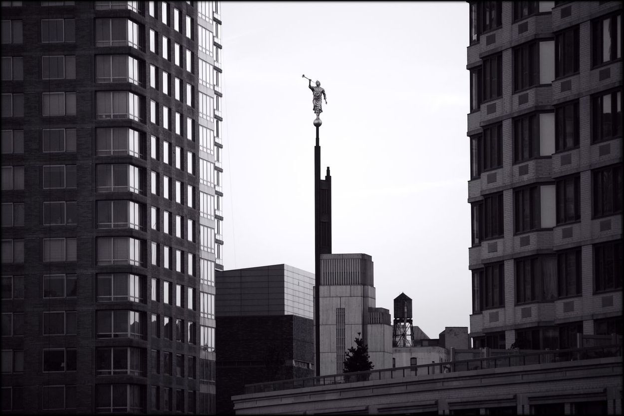 Mormon Life Manhattan Street Photography Monochrome