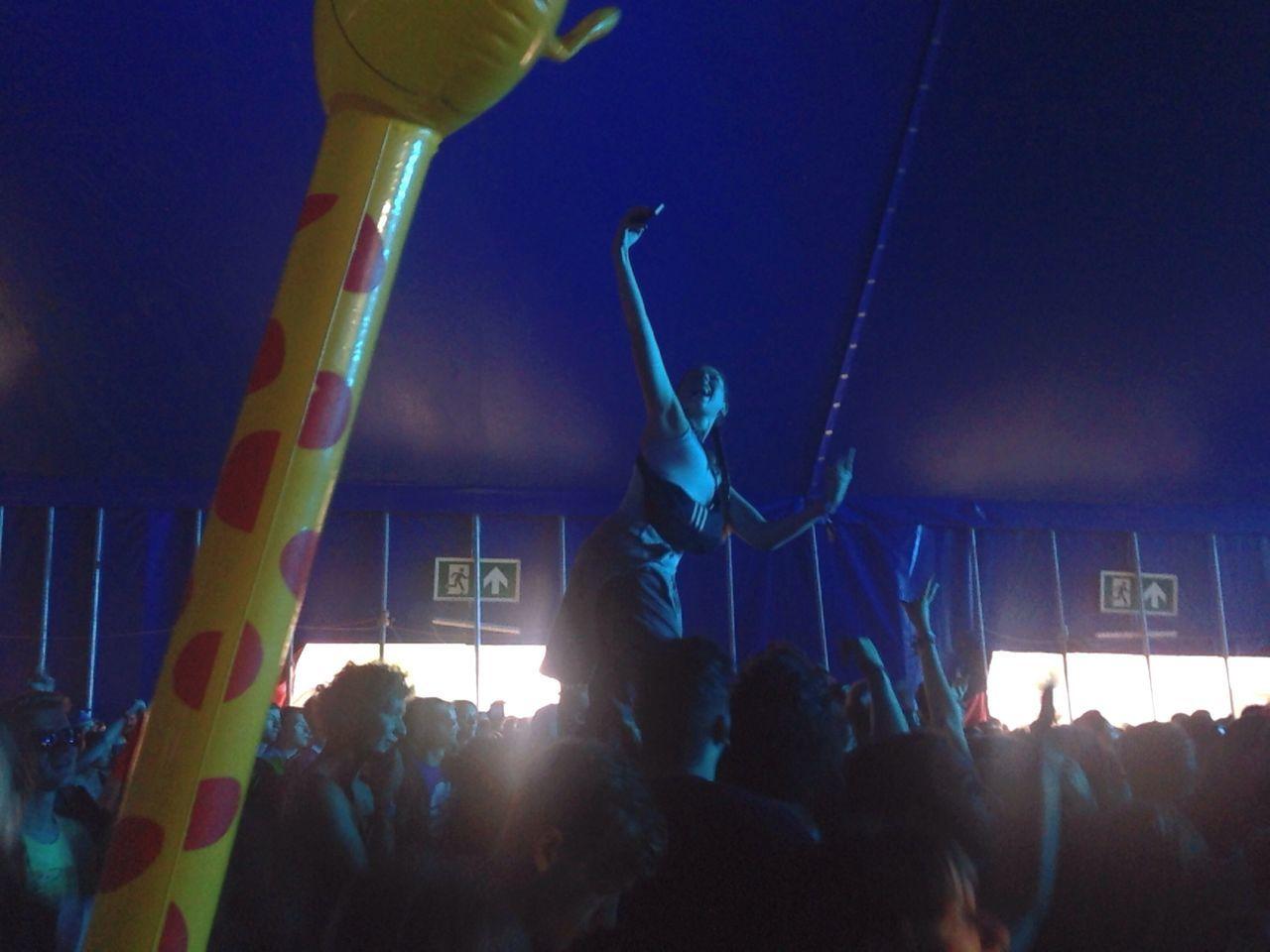 Festival Season Music Girl Selfie ✌ Selfies Crowd Concert Young Hipster
