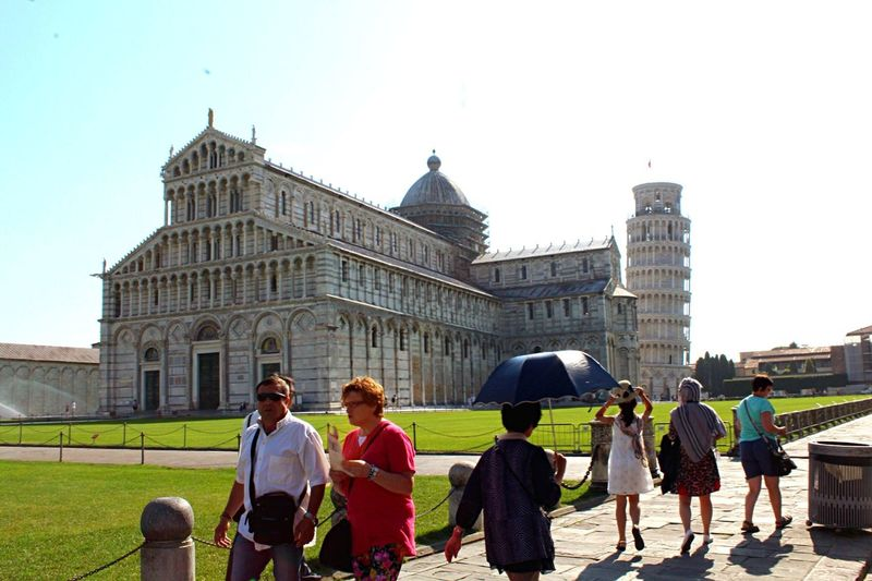 Pisa, Italy Pisa Italy Pisa Italy Pisa Tower Umbrella Tourists Architecture Pisa Cathedral Italia