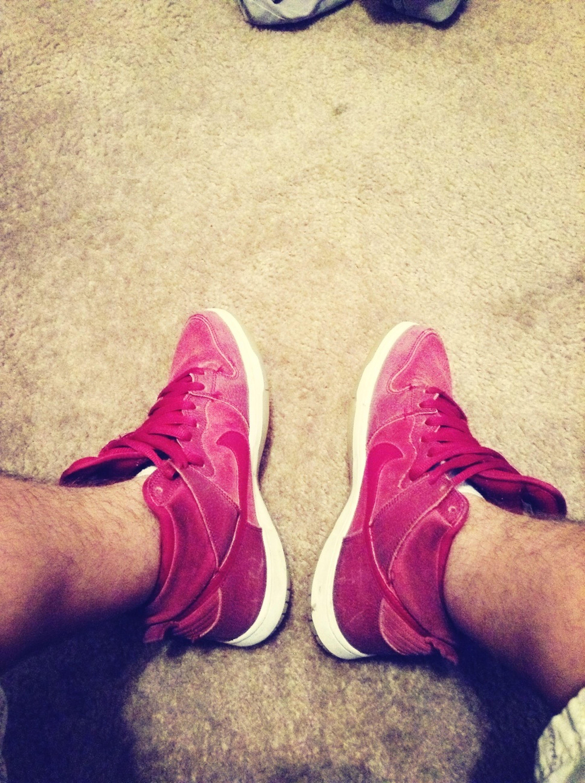 Team Red NikeSb's
