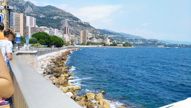 Sea Montecarlo Monaco Beautifulview Sun