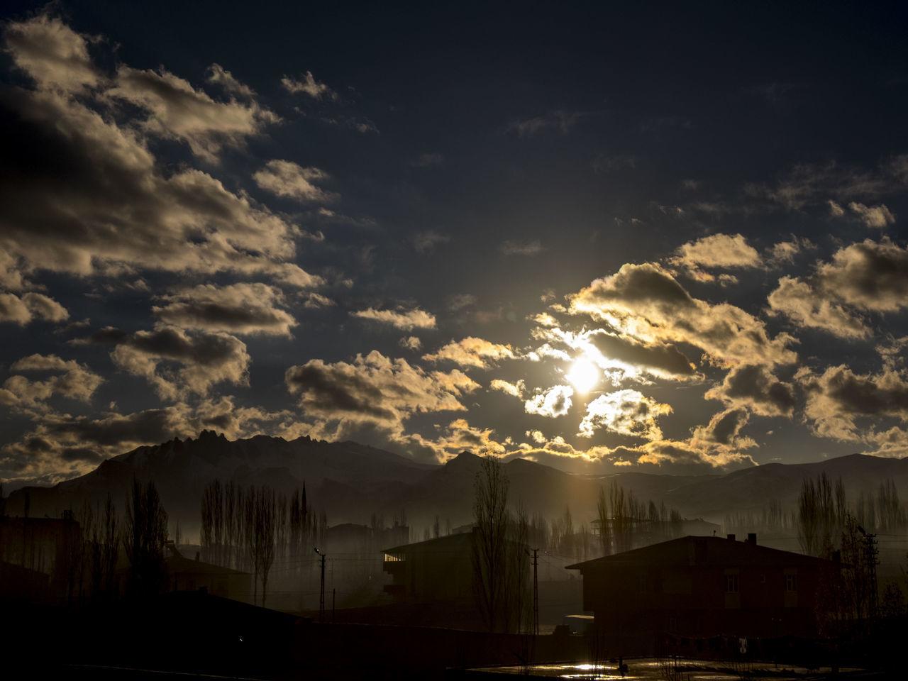 Ağrı Cloud Cloud - Sky Cloudy Doğubayazıt Sky Storm Cloud Strong Clouds Sundown Sunset