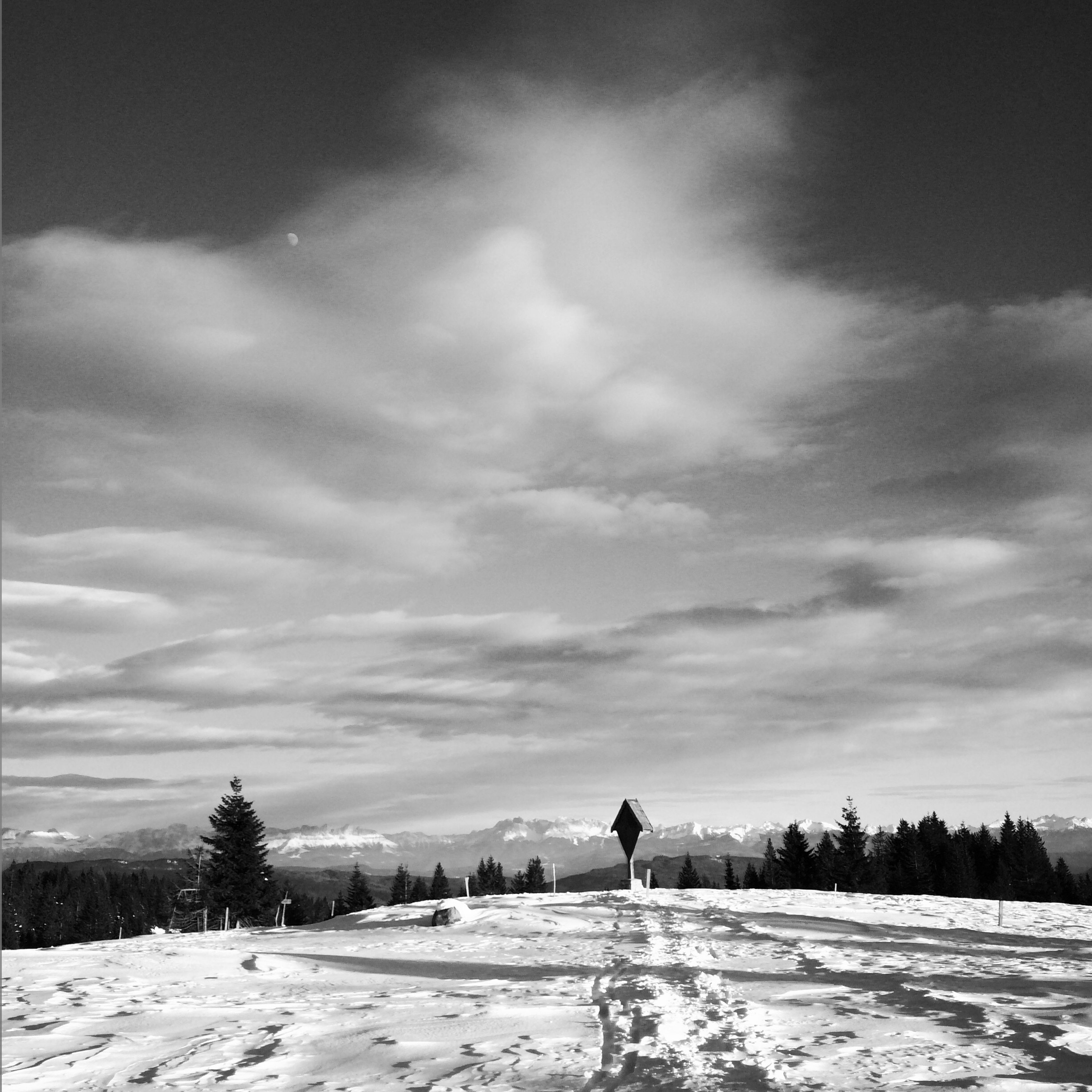 snow, winter, cold temperature, season, weather, sky, landscape, tranquil scene, tranquility, covering, nature, field, cloud - sky, beauty in nature, scenics, white color, snow covered, frozen, tree