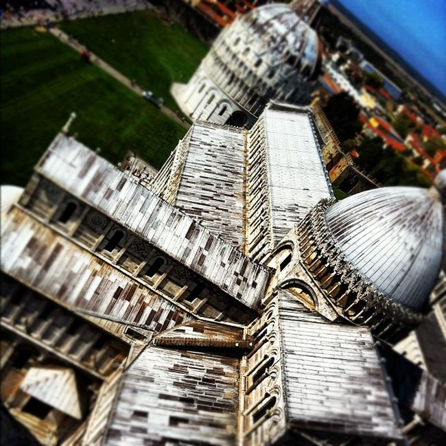 Pisa view from the tower Italy