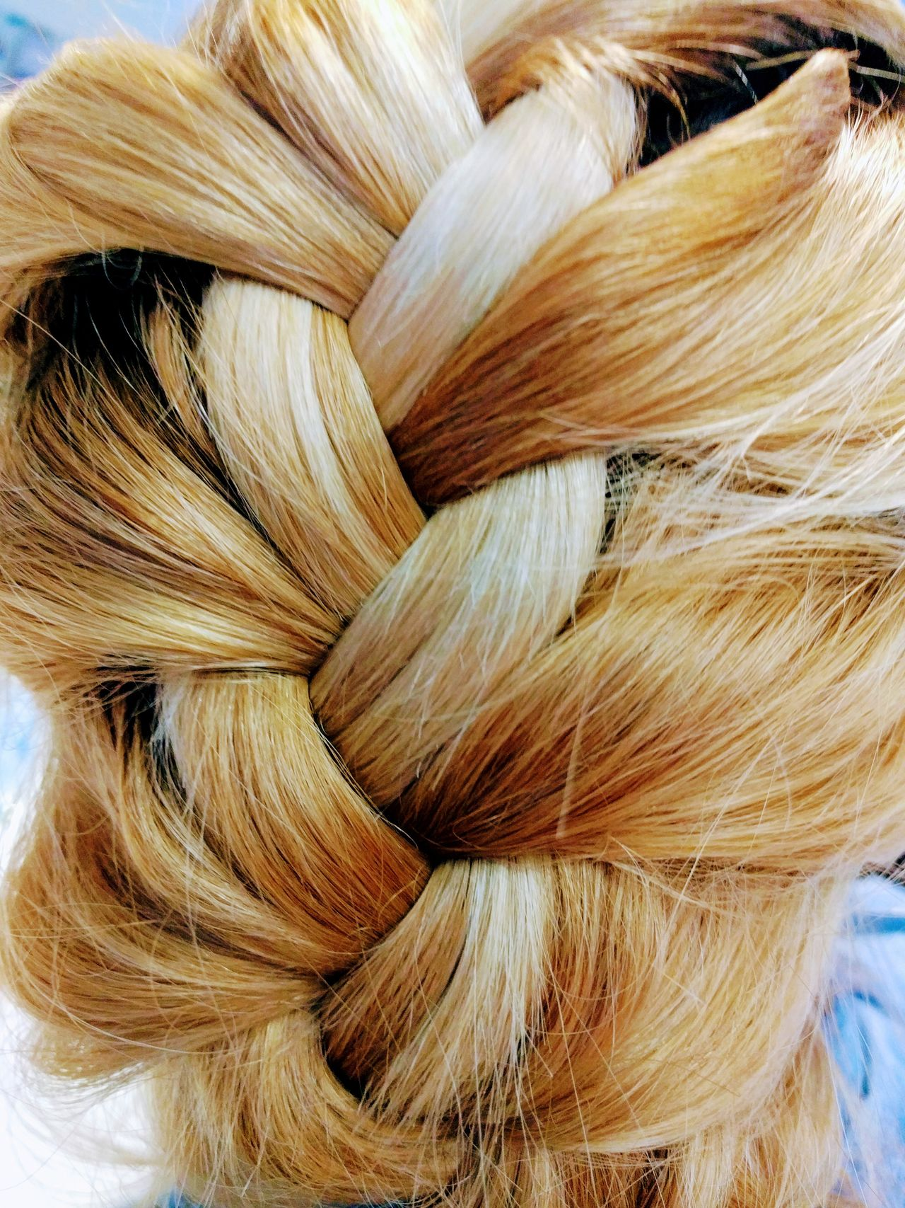 Backgrounds Close-up Full Frame Hairstyle Blonde