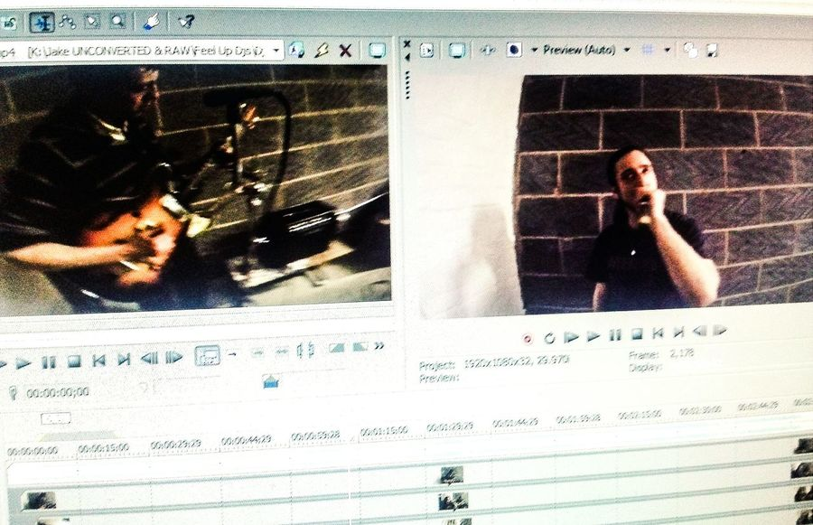 Photo of the new Shipmans Prescription video edit in progress. Manchester Music Mods Indie Music Video Edit Male Vocal Music Performance Manchester