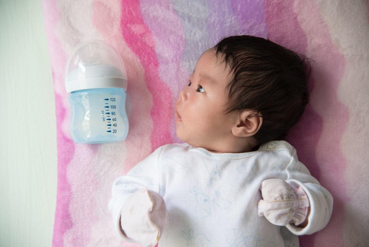 Asian  Baby Bedroom Chidren Cute Miles Away Newborn Sleeping