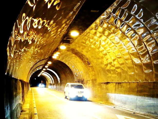Reflections Tunnel Street Photography