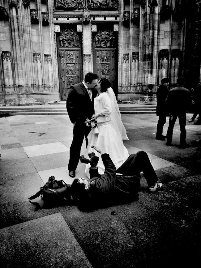 You may kiss the bride... Streetphotography Blackandwhite Streetphoto_bw Shootermag Bws_worldwide Gang_family Eye4photography  AMPt - Shoot Or Die Bw_collection Eye4black&white  AMPt - LOVE
