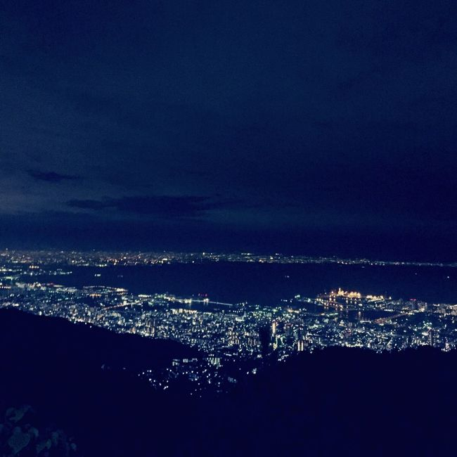 Clouds And Sky Nightphotography Night Lights Night View Beautiful View Mt.Rokko Japan Photography Goodnight 1000万ドルの夜景💝見た瞬間、毎回わぁ🙊って声が出ちゃう❣