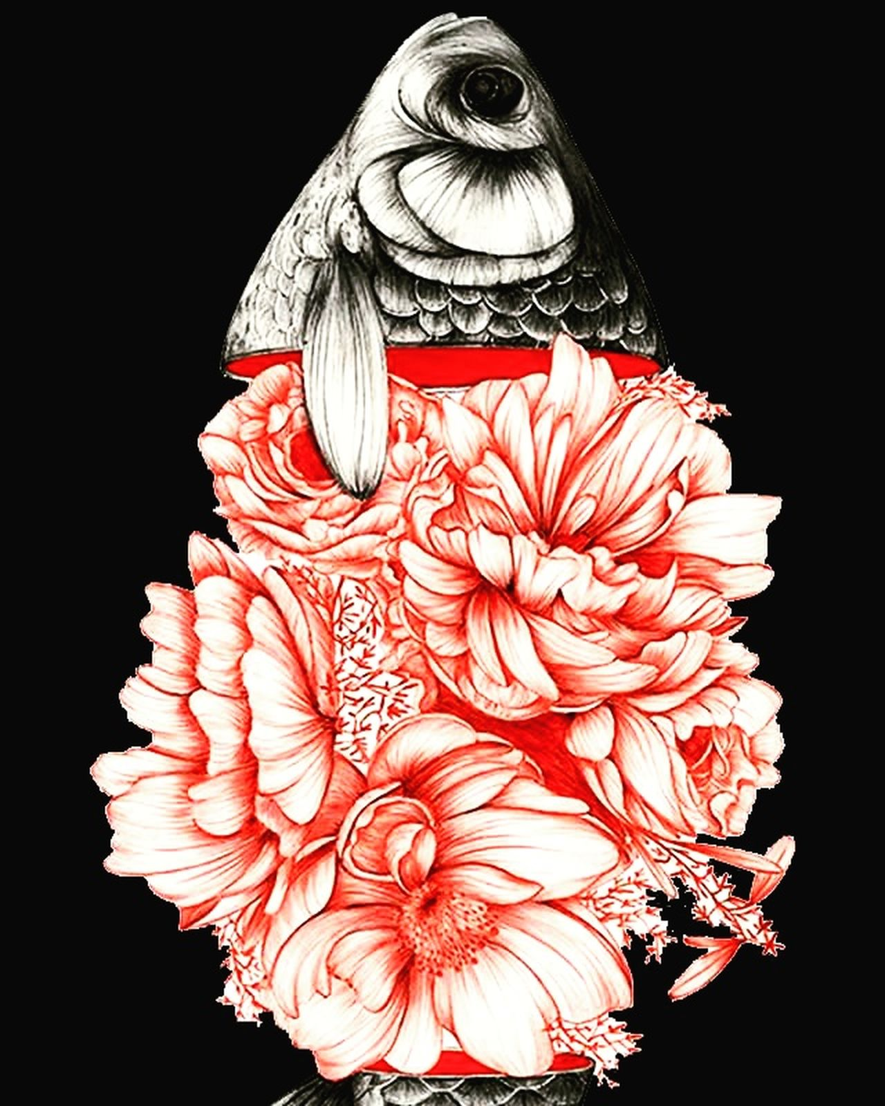 Rose fish Ilustration First Eyeem Photo