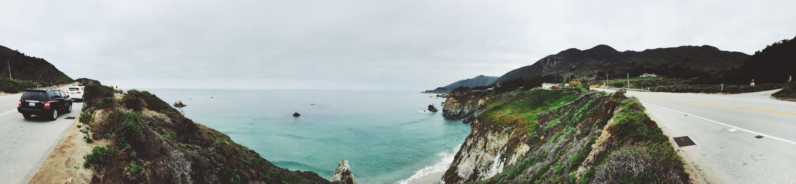 The Places I've Been Today PCH Big Sur Panorama