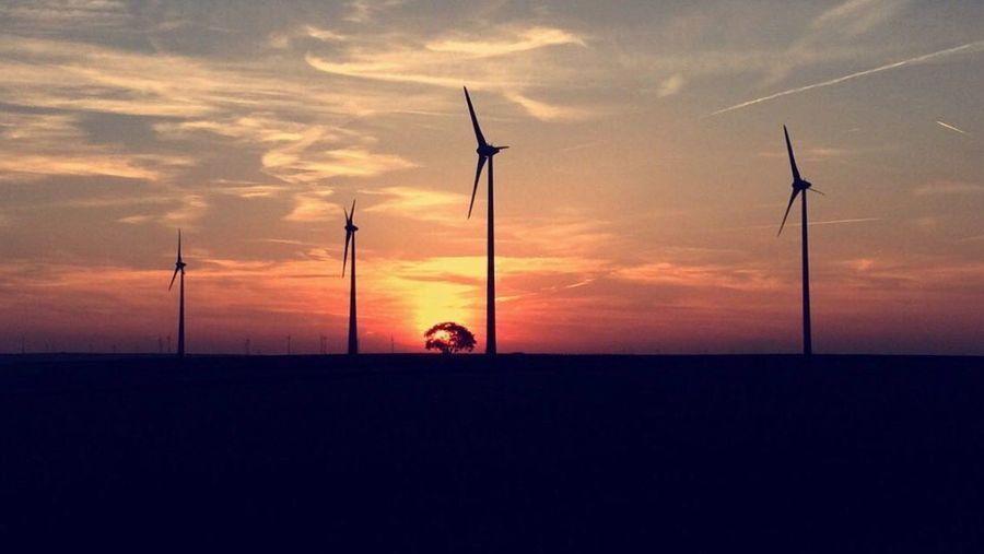 First Eyeem Photo Sunset Landscape