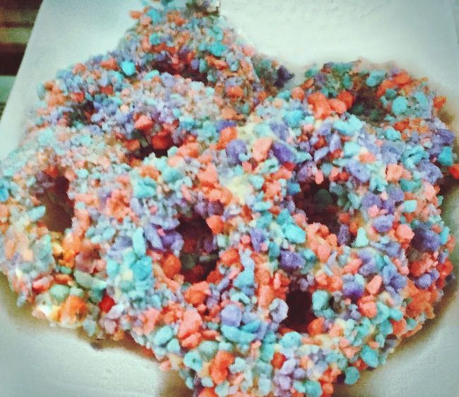 Pretzels in a colorful world. Food Food Porn Food Photography Dessert Dessert Porn Dessert Time! Pretzels Pastry Pastries Colorful Sprinkles Bakery Bake Shop Treats Treat Treatyoself Yummy Sugar Sweet Sweet Food Vivid Colours  Candy Coated Colored Sprinkles Confections  Rhode Island