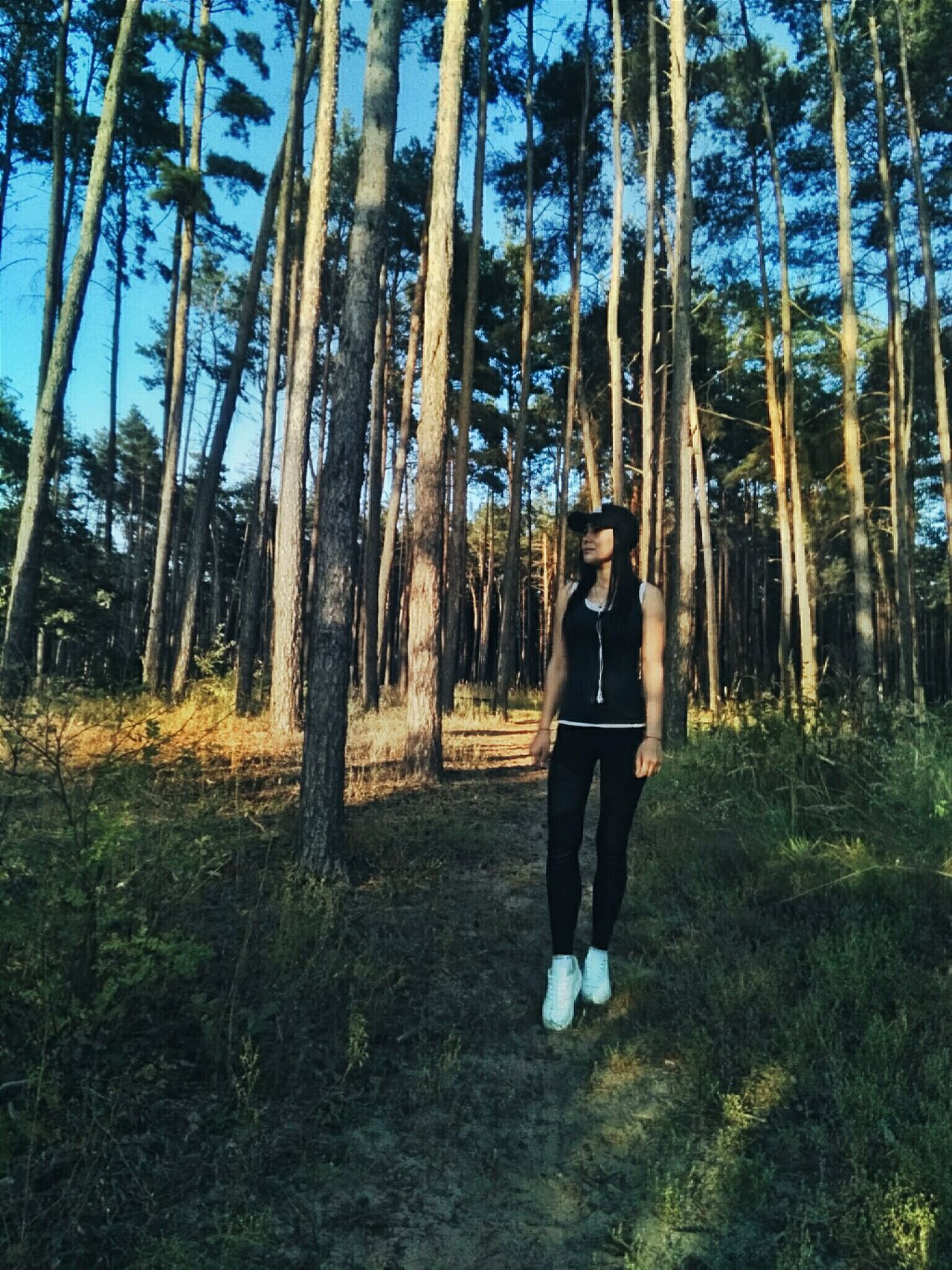 Travel Sport Forest Style Lookoftheday Natural Beauty Fotomodel Model Beautiful Girl Photoprocessing Sexygirl OneLove Moda Fasion First Eyeem Photo Sexyselfie Hair Trend Beauty Moda Nature Forest Photography Wiev Body & Fitness Easybrow Pepole
