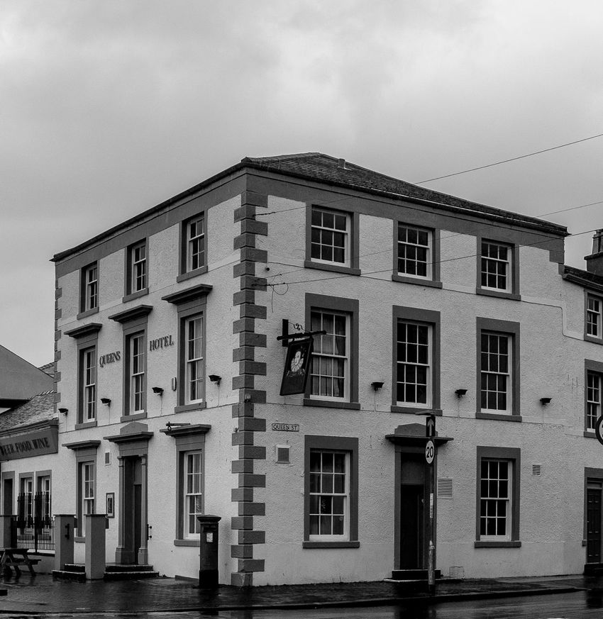 Queen's Hotel, Morecambe Morecambe Black And White Pubs Architecture