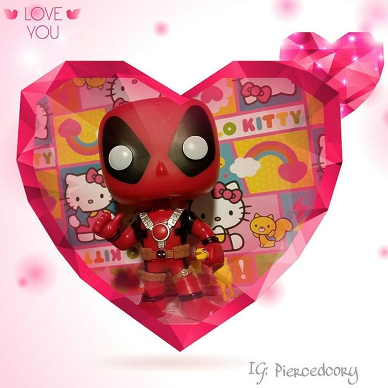 How am I spending valentine's day? What chicken?....... Deadpoolmovie Deadpool Tcbc_valentines2016